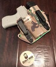 Fits Glock 42 G42 G-42 Multicam Kydex SideCar Holster IWB Appendix Magazine