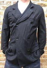 Yohji Yamamoto Pour Homme Black Cotton Jacket - Size 4...