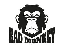 1 x 2 Plott pegatinas Bad Monkey Malvado Mono malvado animal sticker tuning JDM OEM