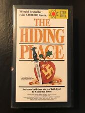 The Hiding Place Ex-Rental Vintage VHS Tape English with dutch subs