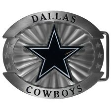 Dallas Cowboys Oversized Belt Buckle NFL Football Licensed Cast Metal and Logo