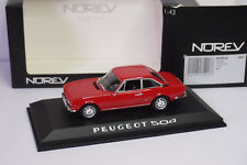 NOREV PEUGEOT 504 COUPE 1969 RED 1:43
