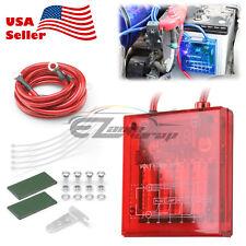 Universal Car Battery Red Voltage Stabilizer Regulator Ground Power Efficiency