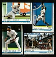 2019 Topps (Series 1 2 & Update) DETROIT TIGERS Team Sets  29 cards