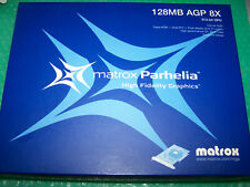 NEU Matrox Parhelia ph-a128 Triple Monitore AGP Grafikkarte