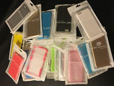 50 PCS Wholesale Lot iPhone 6 6S 6 plus Cases Shockproof Soft TPU Bumper Silicon