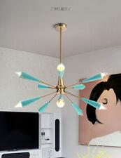 Mid Century Sputnik Chandelier 10 Light Adjustable Ceiling Lamp E14 Lighting