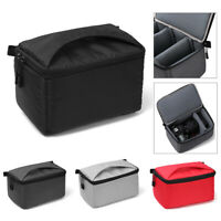 Portable DSLR SLR Camera Bag Padded Partition Insert Cover For Canon Sony New+