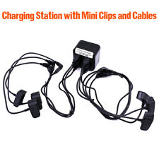 6 Port Multi Charger for Garmin Alpha 100 & Astro 430 320 Mini Collar with clips
