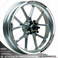 SET ADESIVI RUOTA SPORT NERO BIANCO PER MT09/MT09 ABS 2013-2020