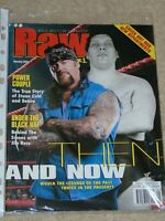 WWE MAGAZINE RAW JANUARY 2002 WRESTLING THE UNDERTAKER COVER WWF