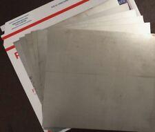 Stainless Steel Sheet Metal 6 Pieces Type 316 24ga 9 X 10