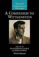 A Companion to Wittgenstein by John Wiley & Sons Australia Ltd (Hardback, 2017)