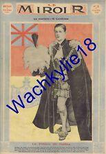 Le miroir n°3 - 14/04/1912 Prince de Galles King Edward VIII Trehawcke Aviatrice