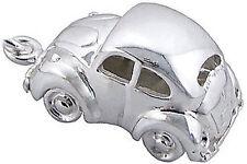 925 Silver BEETLE CAR Charm VW Beetle Herbie Car Clip On Boxed