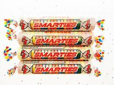 Smarties ~ 4 Huge Rolls ~ Extra Large ~ Candy 2.25 oz ea Smarty