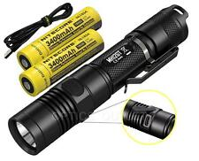 NITECORE MH12GT 1000 Lumen LED Flashlight Long Throw MH12 Upgrade with 2x 18650