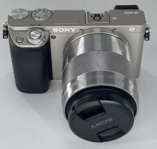 Sony Alpha A6000 24.3MP Digital Camera - Black With 50mm 1.8 Lens FREE SHIPPING!