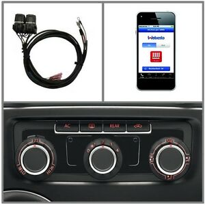 T6 Zuheizer Aufrüstung Climatic Volkswagen Thermo Call Android & iPhone App GSM