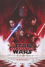 Star Wars the Last Jedi - original DS movie poster - 27x40 D/S INTL Final