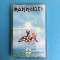 IRON MAIDEN - Seventh Son Of A Seventh Son - 1988 Original Cassette Tape