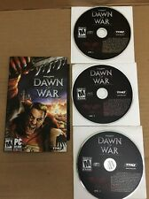 Warhammer 40,000 Dawn Of War PC With Manual Perfect Condition And Key Code