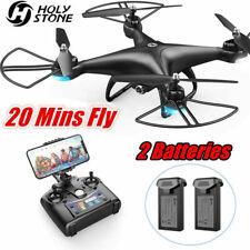 Holy Stone HS110D Drohne mit 1080P HD Kamera FPV RC Quadrocopter Drone 2 Akkus