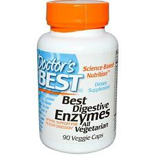 Digestive Enzymes - Vegetarian - 90 Vcaps by Doctor's Best - Digestive Support