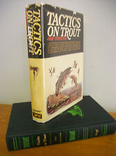Tactics On Trout by Ray Ovington, 1969 1st Ed in Dj, Illustrated