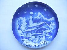 Bavaria porcelana navidad 1978 Oberammergau-proyecto heiner Grimm wunsiedel