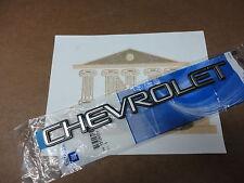 1999-2007 Chevrolet Silverado Tahoe Suburban Trailblazer Tailgate Emblem OEM NEW