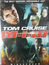 Mission: Impossible 3 (DVD, 2006, Widescreen Edition)