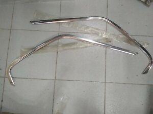 BMW E21 rear window mouldings upper L+R !NEW! GENUINE 51361840909 51361840910