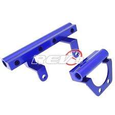 Rev9 Fit Mazda Rx8 13B Msp Performance Top Feed Injector Fuel Rail Blue