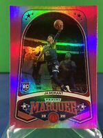 Ja Morant 2019-20 Panini Chronicles Marquee Pink RC Memphis Grizzlies