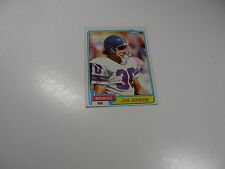 Jim Jensen 1981 Topps ROOKIE CARD #348