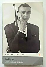 IAN FLEMING - JAMES BOND - FROM RUSSIA WITH LOVE - PENGUIN FILM COVER RARE