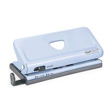 Rapesco Adjustable 6 Hole Organiser Diary Punch Handle Lock Down Switch New