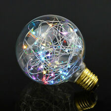 Flash ciel étoilé Rétro Vintage Globe Ampoule 2 W Lumière DEL Fête RGB Color E27 Vis