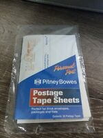 1 Pack of 50 tapes Pitney Bowes® Postage Meter Tape Sheets Labels New