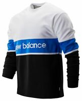 New Balance Men's NB Athletics LS Archive Tee Black with White & Blue