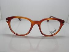 New PERSOL 3052-V 96 Terra di Siena Light Havana RX Eyeglasses 52mm