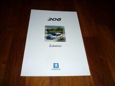 Peugeot 206 Zubehör Prospekt 01/2002