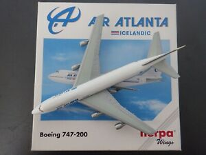 Herpa 1:500 Air Atlanta Icelandic Boeing 747-200 502528 EXC #836