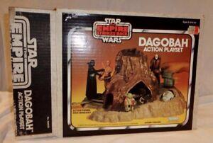 Vintage 1980 Kenner Star Wars Dagobah Action Playset Boxed