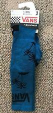 VANS Smartwool Wool Blend Winter Socks Snowboarding Ski Warm Adult Large Blue