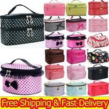 Womens Make Up Bag Vanity Case Travel Cosmetic Organiser Beauty Large Capacity S