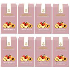 Dallmayr Aromatisierte Früchteteemischung Aprikose / Pfirsich 8 x 100g