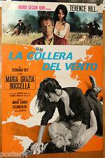 soggettone film LA COLERA DEL VIENTO Terence Hill Maria Grazia Buccella 1970
