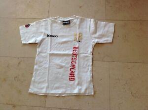 Kempa T-Shirt Mimi Kraus Nr. 18 Deutschland Handball Gr. XS weiß wie neu
